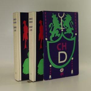 náhled knihy - Dombey a syn (1.-2. díl, 2 svazky)