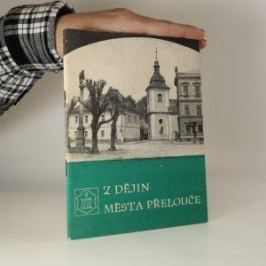 náhled knihy - Z dějin města Přelouče