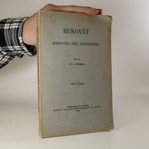 náhled knihy - Rukoväť spisovnej reči slovenskej
