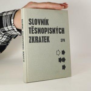 náhled knihy - Slovník těsnopisných zkratek