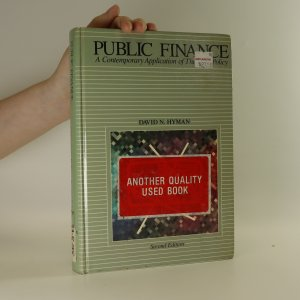 náhled knihy - Public Finance. A Contemporary Application of Theory to Policy.