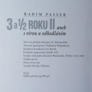 antikvární kniha 3 a 1/2 roku II, aneb, S vírou a odhodláním., 2007