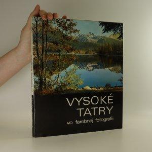 náhled knihy - Vysoké Tatry vo farebnej fotografii