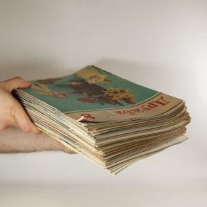 antikvární kniha Дружба. (Družba, 79 čísel, 70. a 80. léta, nekomplentí, nekontrolováno), neuveden