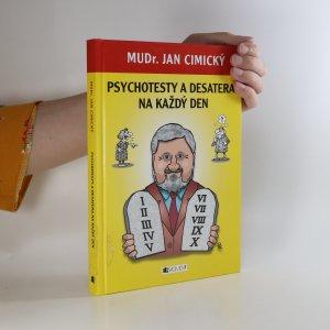 náhled knihy - Psychotesty a desatera na každý den