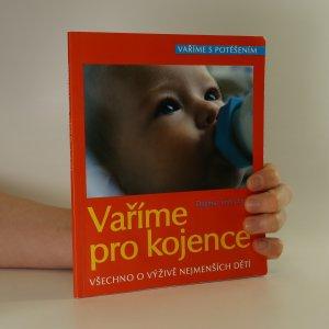 náhled knihy - Vaříme pro kojence