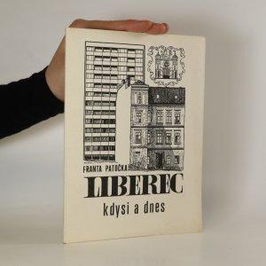 náhled knihy - Liberec kdysi a dnes