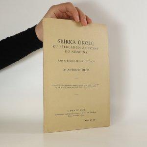 náhled knihy - Sbírka úkolů ku překladům z češtiny do němčiny