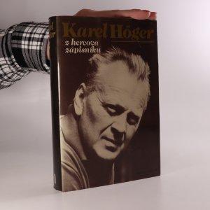 náhled knihy - Karel Höger. Z hercova zápisníku