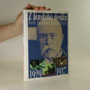 náhled knihy - Z lánského deníku. 1929-1937