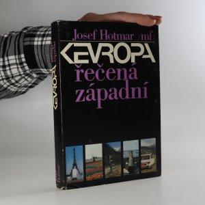 náhled knihy - Evropa řečená západní