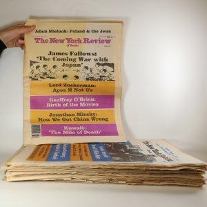 náhled knihy - 15x The New York Review of Books (nekompletní ročníky XXXVIII a XXXIX, viz. poznámka)