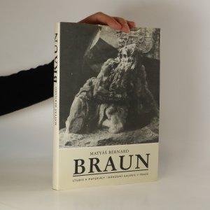 náhled knihy - Matyáš Bernard Braun 1684 - 1738