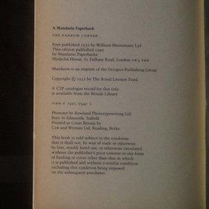 antikvární kniha The Narrow Corner, 1990