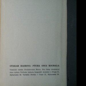 antikvární kniha Pýcha otce Roubala , 1938