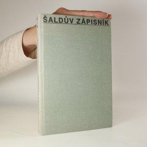 náhled knihy - Šaldův zápisník I.