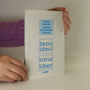 náhled knihy - Slovník politického myšlení