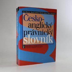 náhled knihy - Česko-anglický právnický slovník