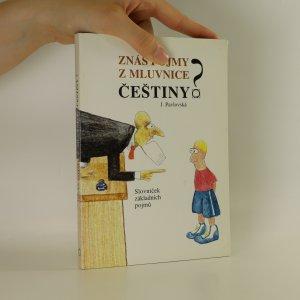 náhled knihy - Znáš pojmy z mluvnice češtiny?