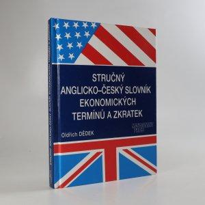 náhled knihy - Stručný anglicko-český slovník ekonomických termínů a zkratek