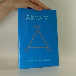 náhled knihy - Akta Y