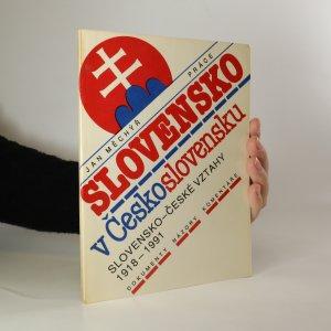náhled knihy - Slovensko v Československu