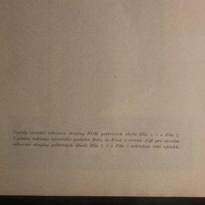 antikvární kniha 100 let zlínské pošty, 1948