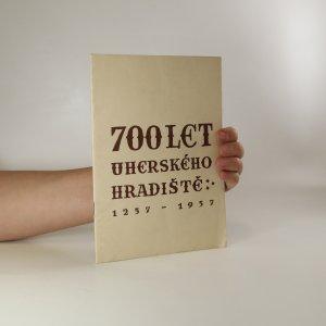 náhled knihy - 700 let Uherského Hradiště