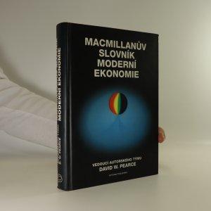 náhled knihy - Macmillanův slovník moderní ekonomie