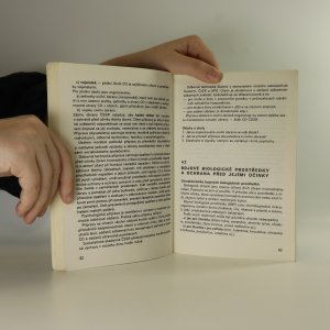 antikvární kniha Branná výchova pro druhý ročník středních škol, 1987