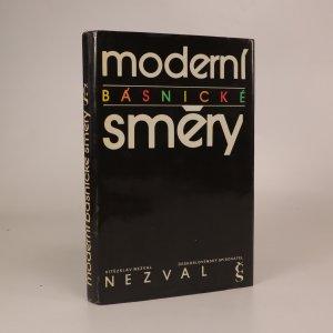 náhled knihy - Moderní básnické směry