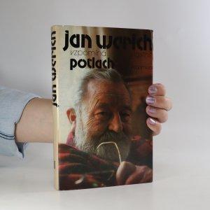 náhled knihy - Jan Werich vzpomíná...vlastně potlach