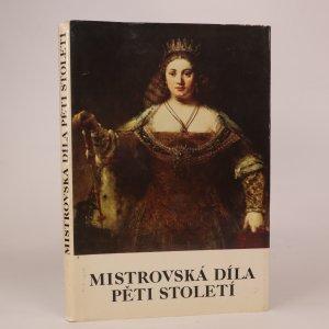 náhled knihy - Mistrovská díla pěti století