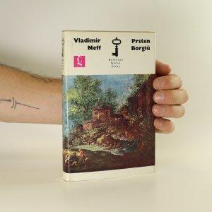 náhled knihy - Prsten Borgiů