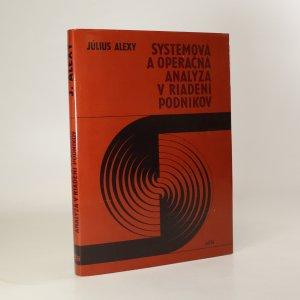 náhled knihy - Systémová a operačná analýza v riadení podnikov