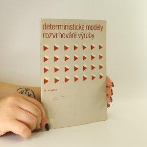 náhled knihy - Deterministické modely rozvrhování výroby