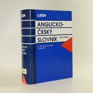 náhled knihy - Anglicko-český slovník. S nejnovějšími výrazy