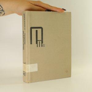 náhled knihy - Matematické modely v ekonomii