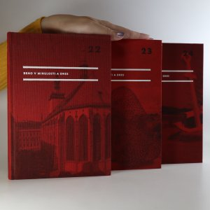 náhled knihy - Brno v minulosti a dnes. Příspěvky k dějinám a výstavbě Brna (3 svazky, viz foto)