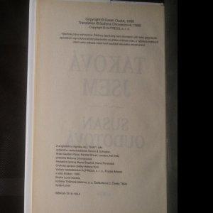 antikvární kniha Taková jsem, 1998
