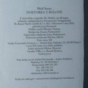 antikvární kniha Doktorka z Boloně, 2013