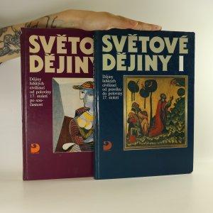 náhled knihy - Světové dějiny I. a II. díl