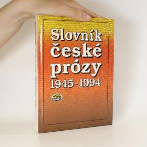 náhled knihy - Slovník české prózy 1945-1994