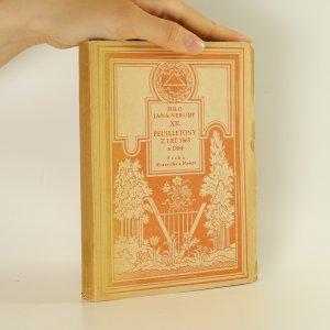 náhled knihy - Dílo Jana Nerudy XII. Feuilletony z r. 1863-1864