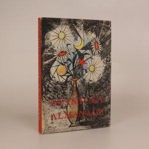 náhled knihy - Básnický almanach 1959