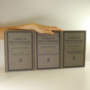 náhled knihy - Lehrbuch der Höheren Mathematik (3 díly)