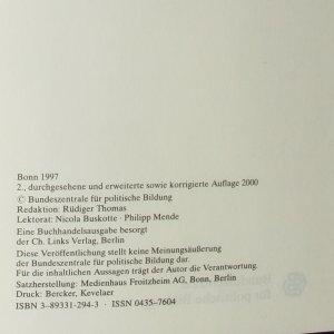 antikvární kniha Geschichte der Opposition in der DDR 1949-1989, 2000