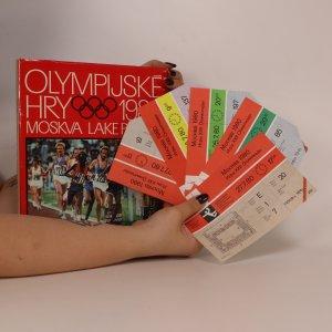 náhled knihy - Vstupenky na OH 1980 + kniha Olympijské hry 1980. Moskva. Lake Placid