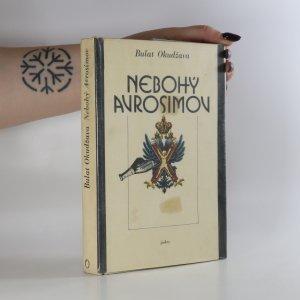 náhled knihy - Nebohý Avrosimov