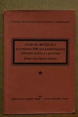 náhled knihy - Studijní materiály pro vedoucí PŠM, pro poddůstojíky základní služby a z povolání: Zimní výcvikové období